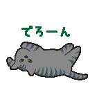 サバトラ猫の毎日使いやすいスタンプ(個別スタンプ:33)