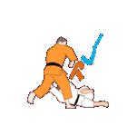 少林寺拳法 MV(個別スタンプ:13)