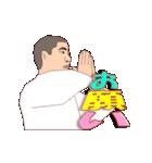 少林寺拳法 MV(個別スタンプ:14)