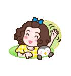 使いやすい☆可愛いペンギンと女の子