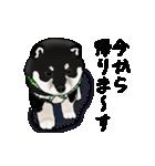 黒豆柴っち(個別スタンプ:11)