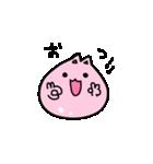 ぷにっとねこ 桜もちちゃん(個別スタンプ:03)