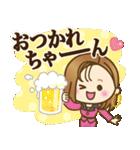 大人女子の日常【ダジャレ/死語】(個別スタンプ:11)
