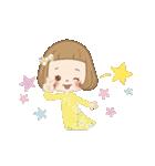 前髪短めな女の子の「春のことば」(個別スタンプ:11)