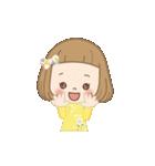 前髪短めな女の子の「春のことば」(個別スタンプ:19)