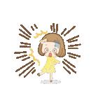 前髪短めな女の子の「春のことば」(個別スタンプ:20)