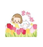 前髪短めな女の子の「春のことば」(個別スタンプ:24)