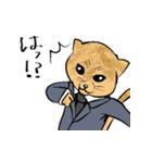 紳士な猫(個別スタンプ:11)