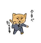 紳士な猫(個別スタンプ:12)
