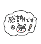 うさ子の野球大会と敬語(個別スタンプ:11)