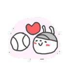 うさ子の野球大会と敬語(個別スタンプ:38)