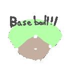 うさ子の野球大会と敬語(個別スタンプ:39)