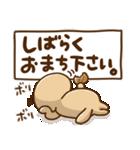 突撃!ラッコさん 丁寧なデカ文字編(個別スタンプ:14)