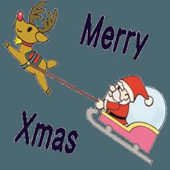 動くクリスマスとお正月