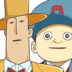 「ロマニー教授&トマソン」スタンプ!