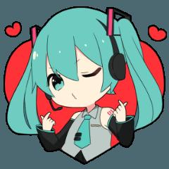 [LINEスタンプ] 【初音ミク】日常スタンプ