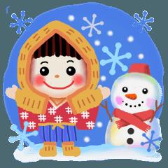 雪ん子2019