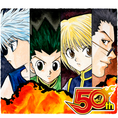 HUNTERXHUNTER(J50th)