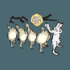 鳥獣戯画✖️蕎麦