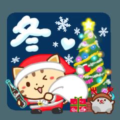 ネコちゃん ハムちゃん 冬の思い出