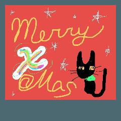 クリスマス 年賀 バースデー ゴシック