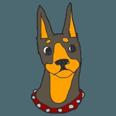 ドーベルマンのビルちゃん 1(犬/ワンコ)