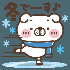 冬でも、いぬ田さん。