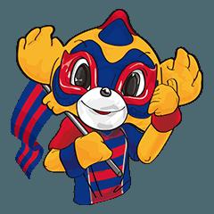 2018FC東京公式スタンプ