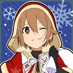[LINEスタンプ] 冬男子!