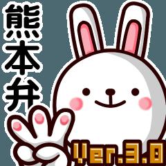 熊本弁ウサギ Ver.3.0