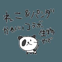 ねこ&パンダ【日常】