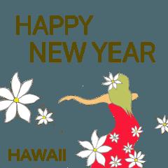 ハワイのクリスマスとお正月