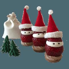 クリスマス いちごサンタクロースな彼ら