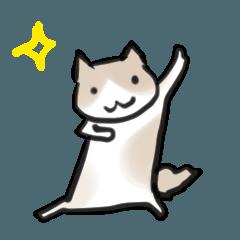 癒し系猫ささみスタンプ