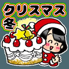 (冬)クリスマス&冬☆黒髪女子第8弾