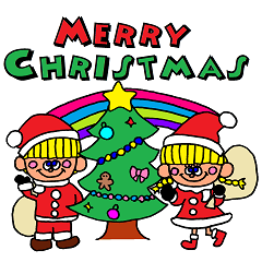 冬のスタンプ☆クリスマス&お正月セット