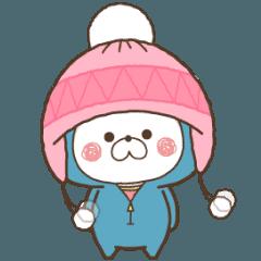 【冬】くまのおうちでほっこり