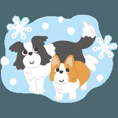 ルイとルナの冬