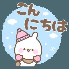 ゆるほわうさぎ☆冬☆