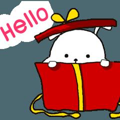 脂肪ウサギ メリークリスマス
