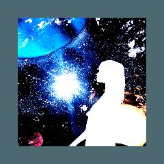 宇宙に抱かれた惑星3