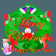 ゆきだるまパパのクリスマスとお正月