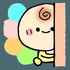 [LINEスタンプ] ばぶばぶ便り (1)