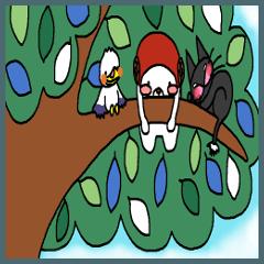クマ ぱんぽぽの森 クリスマス