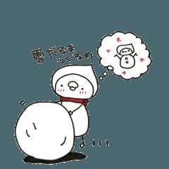 頭巾坊や〜初めての冬〜