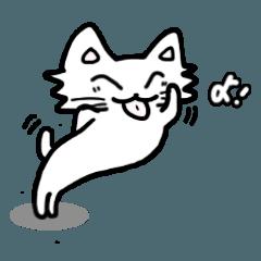可愛い舌の猫