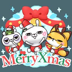 ひとえうさぎ30(冬クリスマス編)