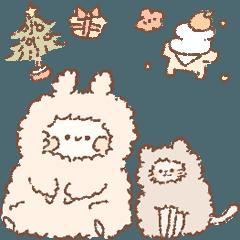 ももちーうさぎの冬とクリスマスとお正月