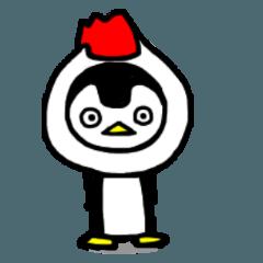 ペンギン模様4