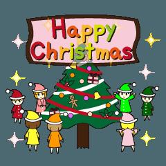 ☆かわいい☆クリスマススタンプ!!